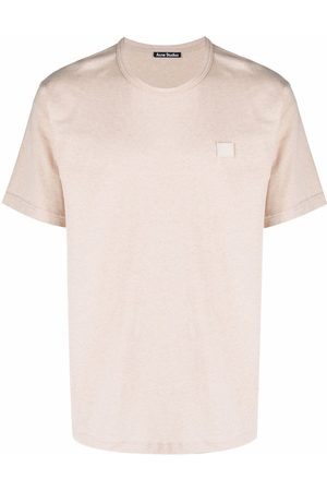 Acne Studios T-shirt Nash à patch Face