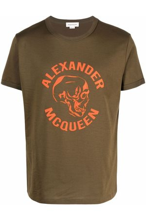 Alexander McQueen Skull logo-print T-shirt