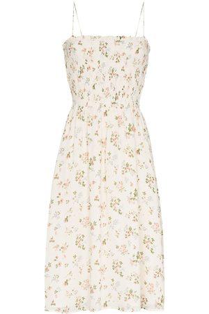 Reformation Sable smock dress