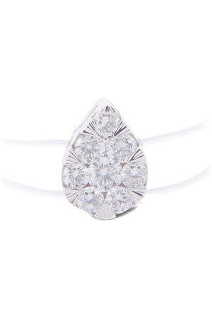 PERSÉE Femme Bagues - Bague Imagine Poire diamant