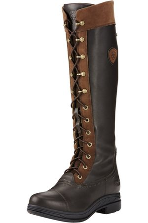 Ariat Femme Bottines - Women's Coniston Pro GORE-TEX Insulated Boots in Ebony Cotton