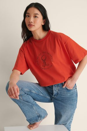 Warner Bros. Femme Manches courtes - Tee-Shirt Grande Taille Looney Tunes - Red