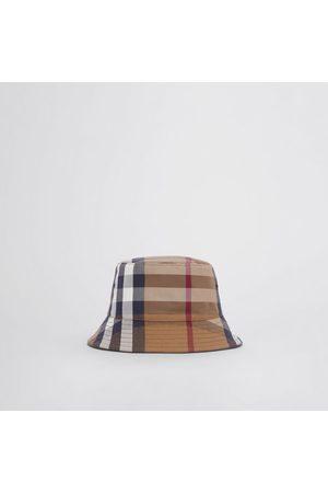 Burberry Femme Chapeaux - Bob en toile de coton check