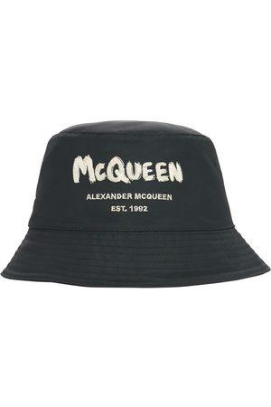 Alexander McQueen Homme Chapeaux - Bob En Nylon À Logo Graffiti