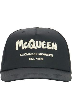 Alexander McQueen Casquette En Nylon À Logo Graffiti