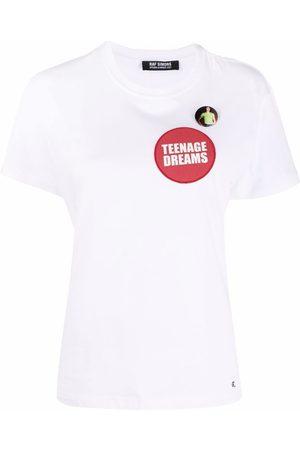 RAF SIMONS T-shirt à patch Teenage Dreams