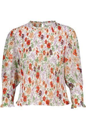 VERONICA BEARD Top à fleurs