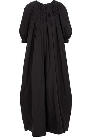 CO Robe longue en ton mélangé