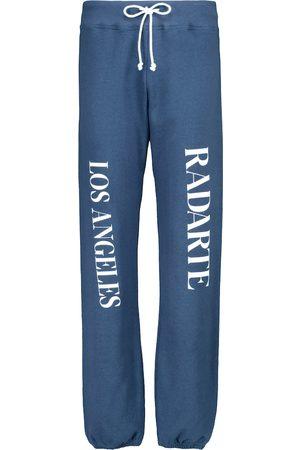 Rodarte Pantalon de survêtement en coton à logo