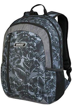 TARGET BACKPACK ICON GREY FLOWERS 26798
