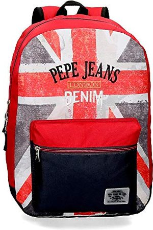Pepe Jeans Calvin Sac à dos adaptable au chariot 32x44x15 cms Polyester 21.12L