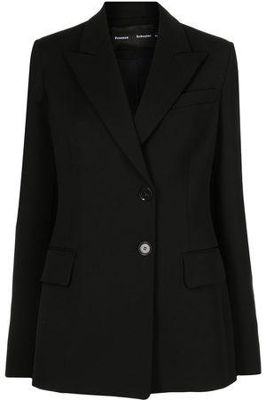Proenza Schouler Femme Vestes - Blazer en laine à simple boutonnage