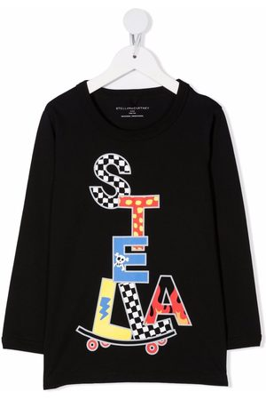 Stella McCartney T-shirt à imprimé Stella Skate