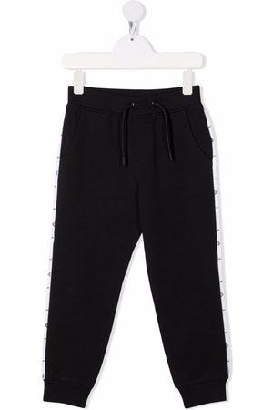 Emporio Armani Pantalon de jogging à bande logo