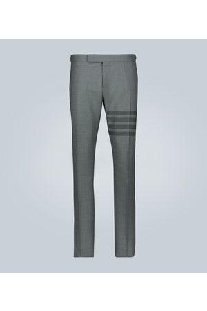 Thom Browne Pantalon en laine 4-Bar School Uniform