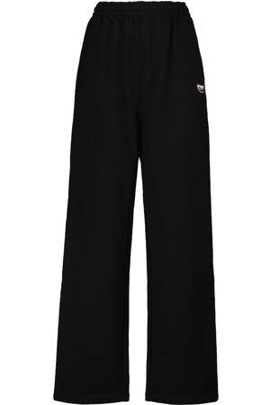 Balenciaga Pantalon de survêtement en coton à logo