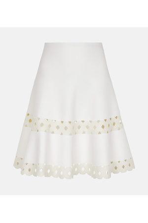 Alaïa Mini-jupe Edition 2007 en laine mélangée