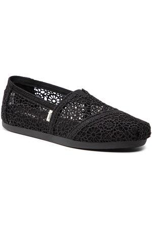 TOMS Chaussures basses - Alpargata 10016254 Black Moroccan Crochet