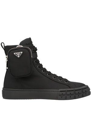 Prada Sneakers montantes Wheel Re-Nylon