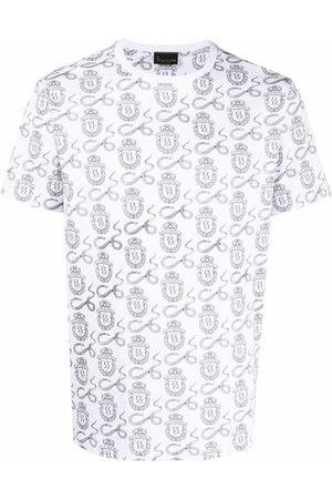 BILLIONAIRE T-shirt à imprimé peau de serpent