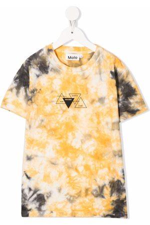 Molo Roxo tie-dye organic cotton T-shirt