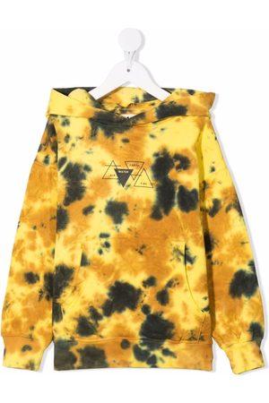 Molo Matt tie-dye organic cotton hoodie
