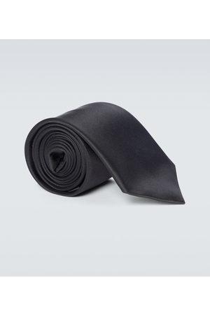 Gucci Cravate en soie à broderie
