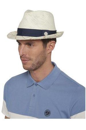 Roland Garros Homme Chapeaux - Trilby avec bords quadrillés bicolore Roland-Garros - Marine