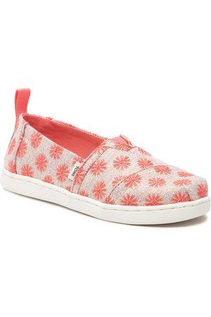 TOMS Chaussures basses - Alpargata 10016434 Coral Twill Glimmer