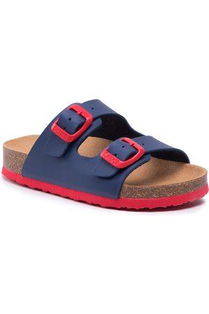 Scholl Mules / sandales de bain - Air Bag Kid F29641 2311 270 Navy Blue/Red