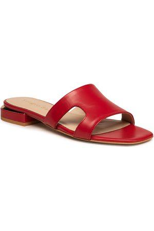 Sergio Bardi Mules / sandales de bain - 2003-07 Red