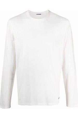 Jil Sander T-shirt en coton à manches longues