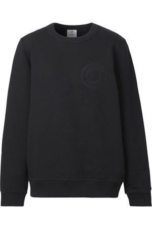 Burberry Embroidered-logo sweatshirt