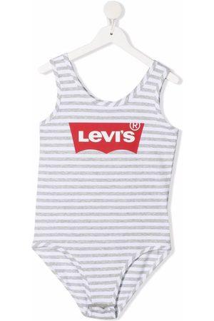 Levi's Logo striped bodysuit