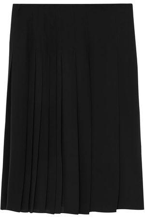 Burberry Femme Jupes plissées - Pleated knee-length skirt