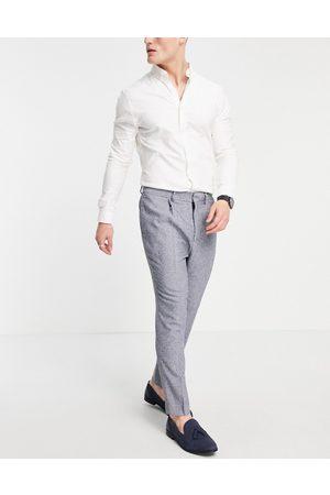 ASOS Pantalon de costume super skinny effet texturé moucheté