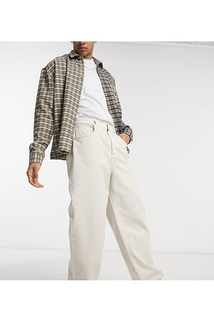 Reclaimed Homme Baggy & Large - Inspired - Jean baggy style années 90 - Écru