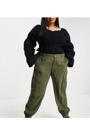 ONLY Femme Cargos - Pantalon cargo - Kaki