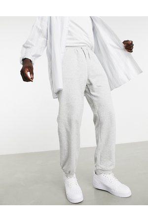 Weekday Homme Joggings - Pantalon de jogging classique - chiné