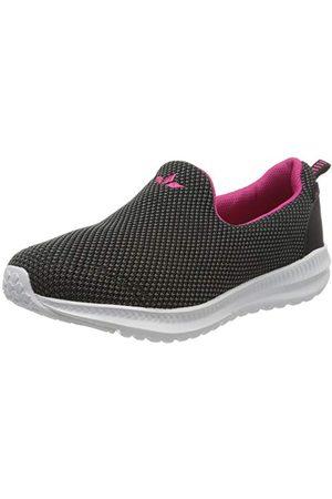 LICO Merit, Sneakers Basses Mixte, (Grau/Schwarz/Pink Grau/Schwarz/Pink), 39 EU