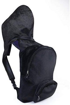 Morikukko Hooded Bacpack Faux Fur Blackmixte adulteSacs à dosNoir (Faux Fur Black)33x8x40 Centimeters (W x H x L)