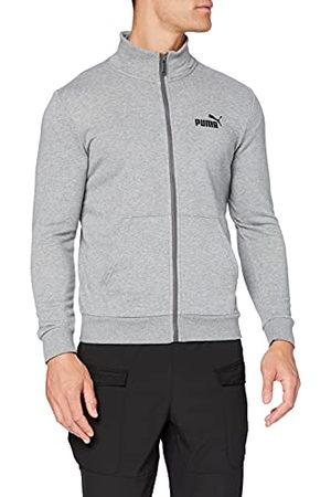 PUMA ESS Track Jacket TR Sweat-Shirts Homme, (Medium Gray Heather), FR : 2XL (Taille Fabricant : XXL)