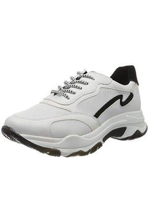 Marco Tozzi 2-2-23707-34, Sneakers Basses Femme, (White/Black 110), 39 EU