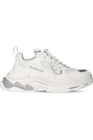 "Balenciaga Sneakers En Simili Cuir ""triple S"" 60 Mm"