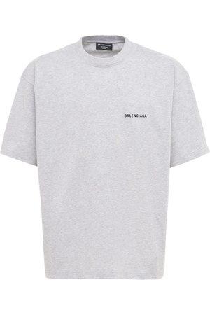 Balenciaga Homme T-shirts - T-shirt En Coton À Logo