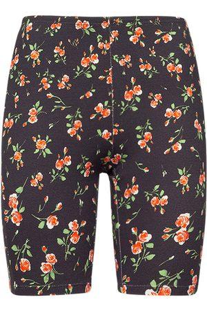 Paco rabanne Femme Shorts - Short En Jersey Stretch Imprimé Logo