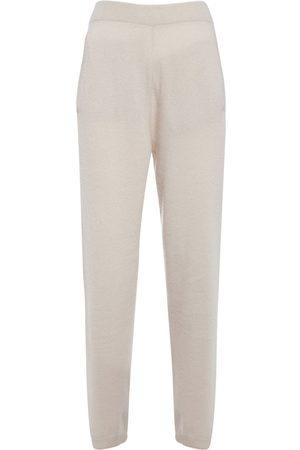 Max Mara Femme Pantalons - Pantalon De Survêtement En Maille De Cachemire