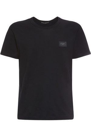 "Dolce & Gabbana Homme T-shirts - T-shirt En Coton ""d&g"""