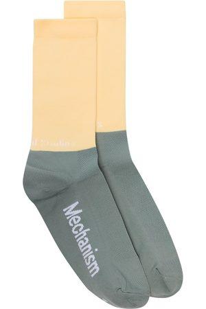 Pas Normal Studios Chaussettes bicolores en maille