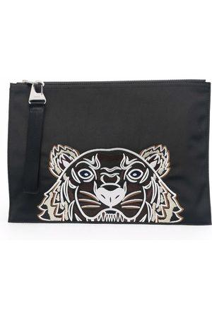 Kenzo Pochette zippée à motif Tiger